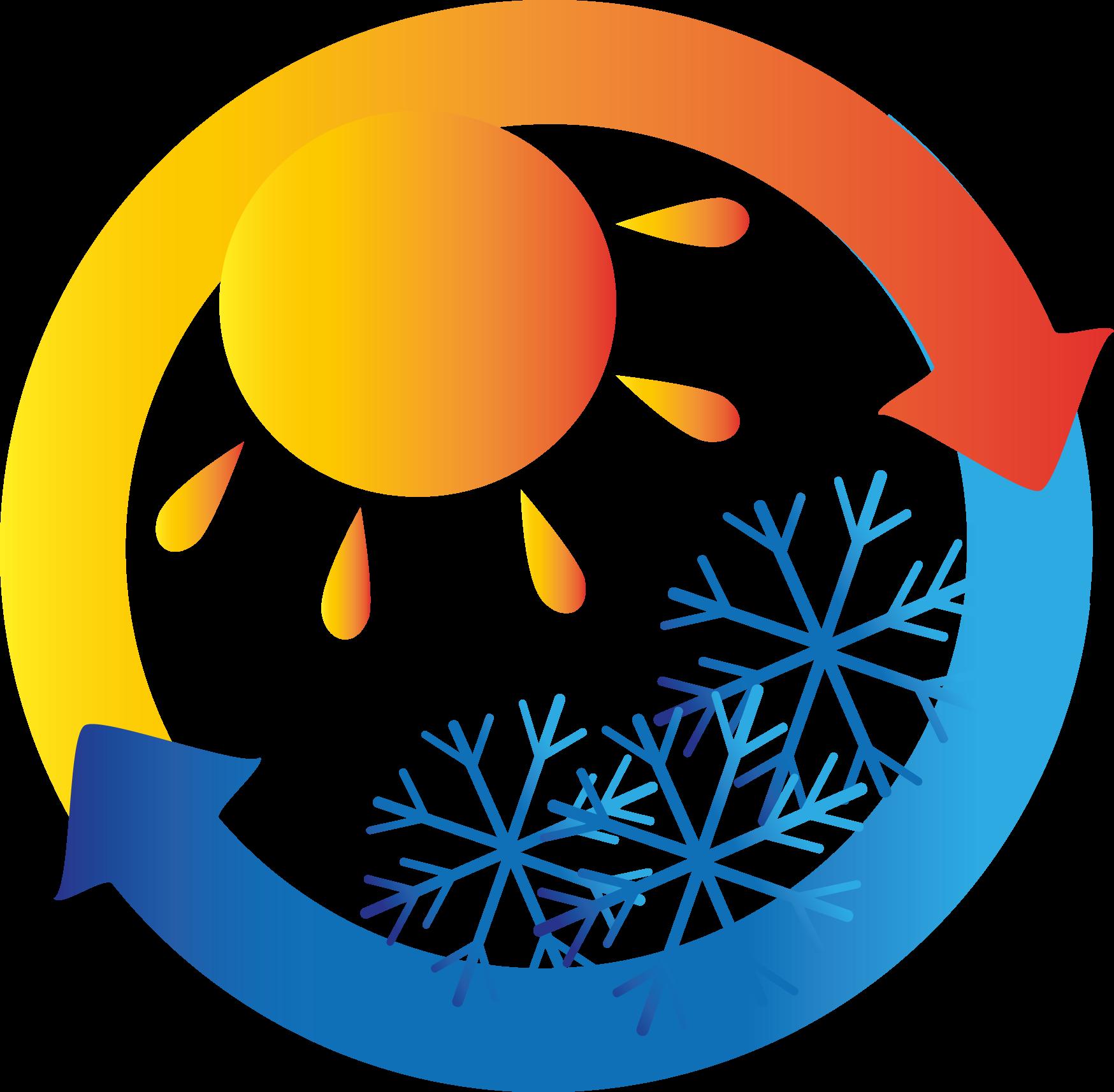 caldo e freddo climatizzazione